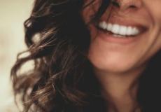 Lächeln und Stress